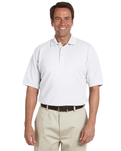Men 19s Performance Plus Piqu Polo