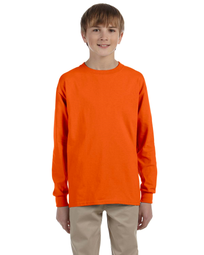 Youth 6.1 oz. Ultra Cotton Long-Sleeve T-Shirt