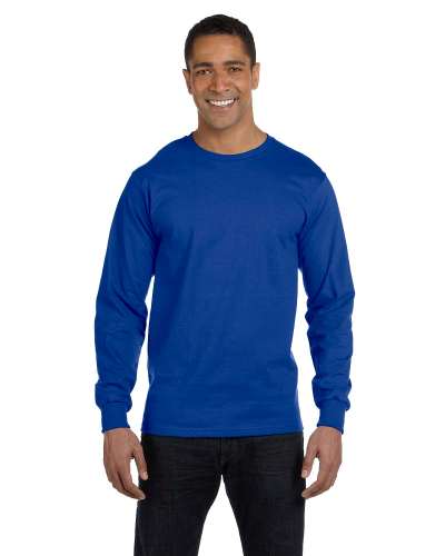 5.2 oz. ComfortSoft® Cotton Long-Sleeve T-Shirt