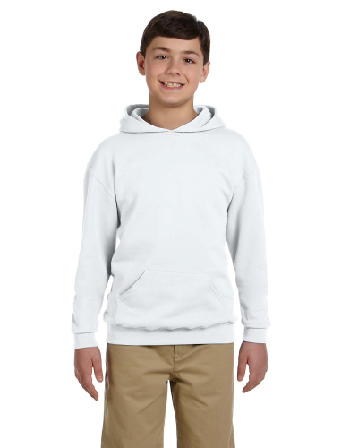 Youth 8 oz., 50/50 NuBlend® Fleece Pullover Hood