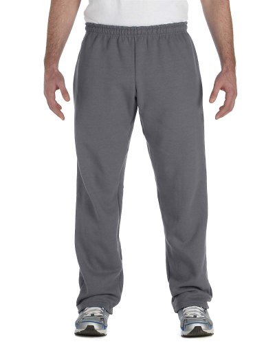 Heavy Blend™ 8 oz., 50/50 Open-Bottom Sweatpants