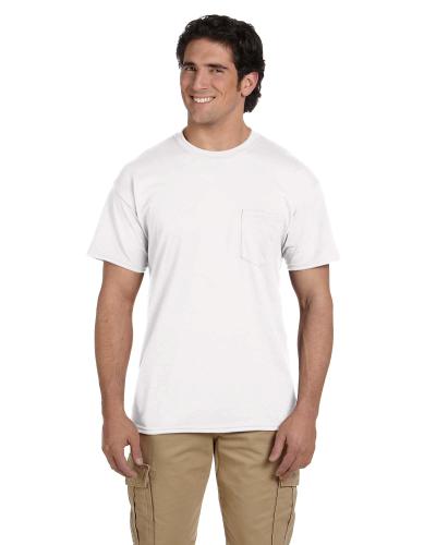 DryBlend 5.6 oz., 50/50 Pocket T-Shirt