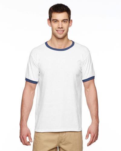 DryBlend 5.6 oz. Ringer T-Shirt
