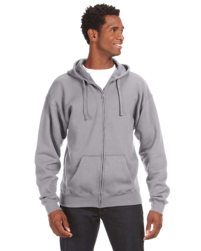 Premium Full-Zip Fleece Hood