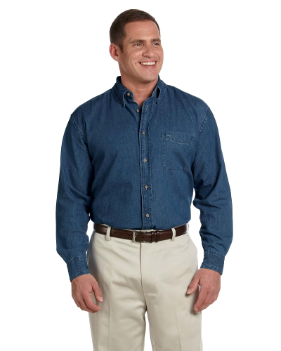 Men's 6.5 oz. Long-Sleeve Denim Shirt