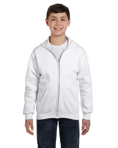 Youth 7.8 oz. ComfortBlend® EcoSmart® 50/50 Full-Zip Hood