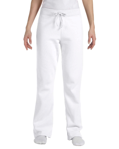 Ladies' 8 oz., 80/20 ComfortBlend® EcoSmart® Open-Bottom Fleece Pant
