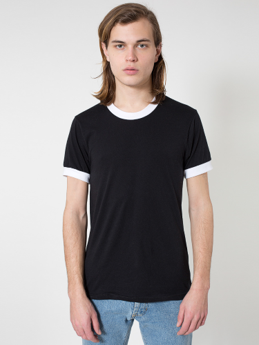 Poly-Cotton S/S Ringer T-Shirt